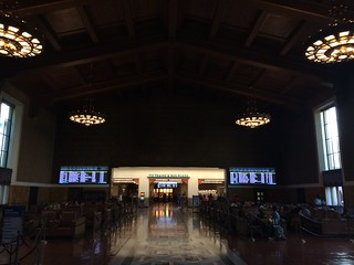 Image of Union Station. union station los angeles laus california western united states passenger terminal el pueblo de ángeles historical monument plaza historic district state park nuestra señora la reina del río porciúncula little tokyo downtown arts city hall civic center chinatown central music performing county walt disney concert mark taper forum ahmanson theatre jewelry pershing square