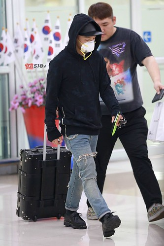 Big Bang - Gimpo Airport - 07jun2015 - Tae Yang - YB 518% - 07