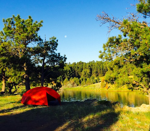 Camping in Wyoming