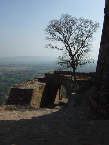 india view ruin rajasthan chittaurgarh chittorgarh