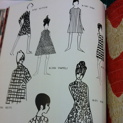 Marimekko dress illustrations