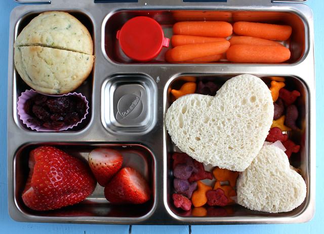 Third Grader Heart Bento #710