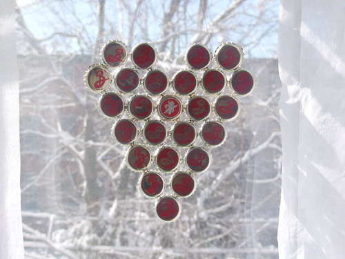 bottle cap valentine