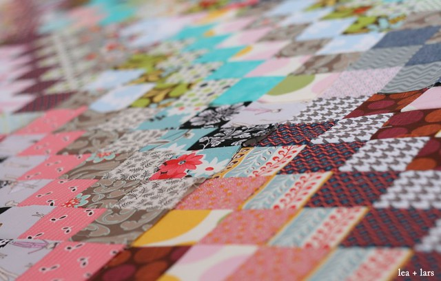 scrappy trip quilt blocks