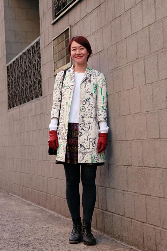 ilona_nyfw street style, street fashion, women, NYC, NYFW