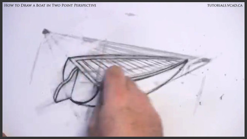 learn how to draw a boat in two point perspective 010