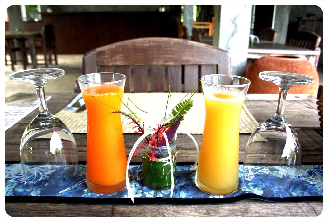 chaw ka cher breakfast juice