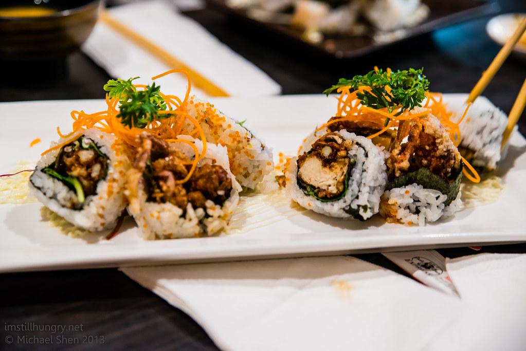 Sushi Samurai - spider rolls