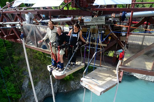 Tandem Bungy Jump - Kawarau Bridge, New Zealand