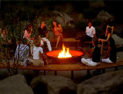 Our Fire Circle - The Lodge at Woodloch
