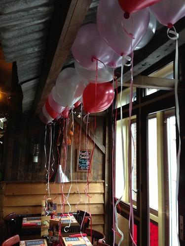 Heliumballonnen Valentijnsdag Bonnie Beer Spijkenisse