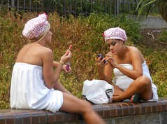 Shower Cap Girls