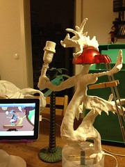 Discord Lamp… I just hope it will ever stand somehow… #mlpfim #discordlamp