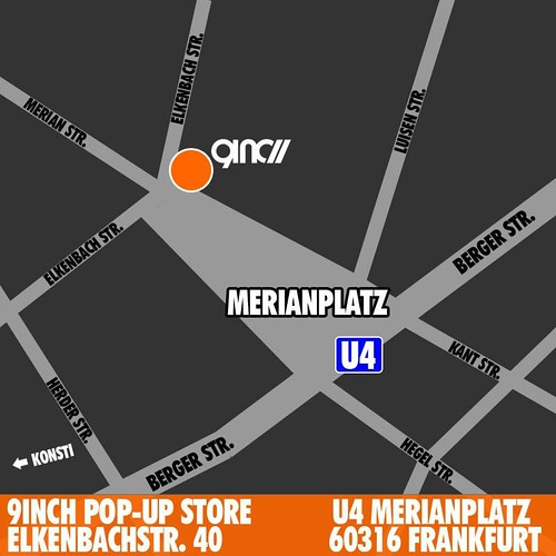 9INCH Pop Up Store