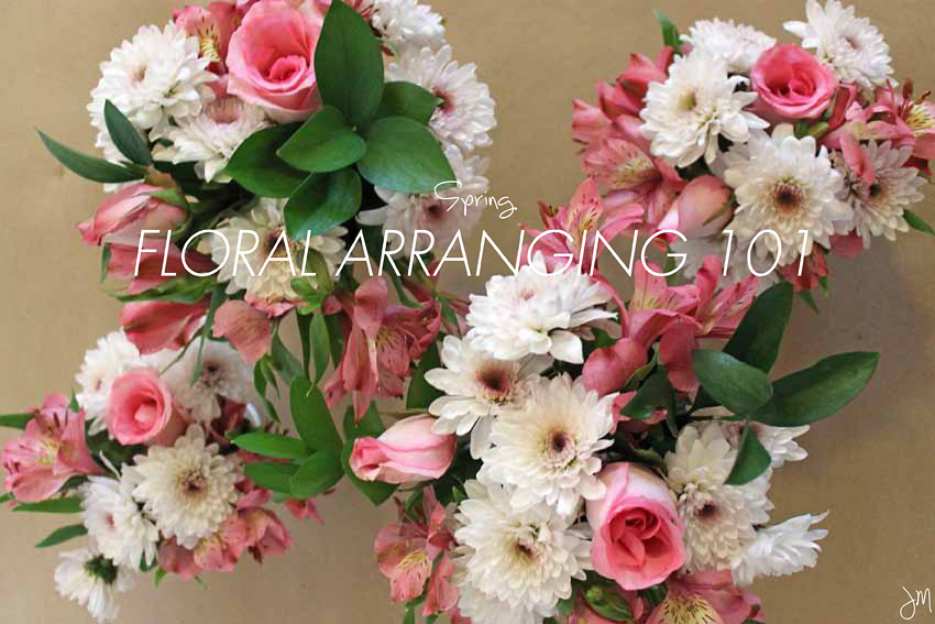 Julip Made spring floral arranging11