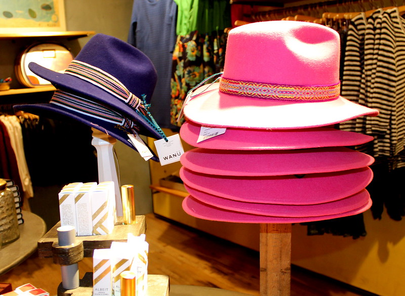 Anthropologie pink hat