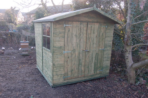 allotment shed Feb 13 2
