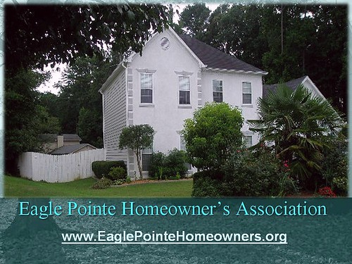 Eagle Pointe Homeowners Association (by: newokadoll, creative commons)