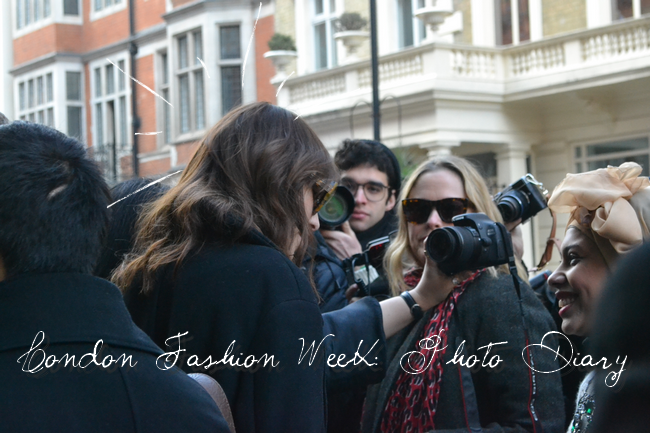daisybutter - UK Style and Fashion Blog: london fashion week AW13 photo diary