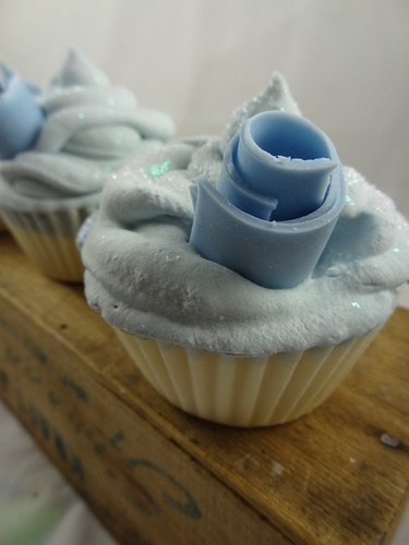 Blueberry Lemon Soap Cupcake - The Daily Scrub (13)
