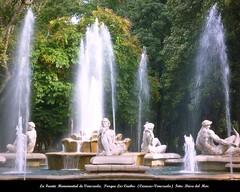 La Fuente Monumental de Venezuela del Escultor Ernesto Maragall. Parque Los Caobos (Caracas-Venezuela)