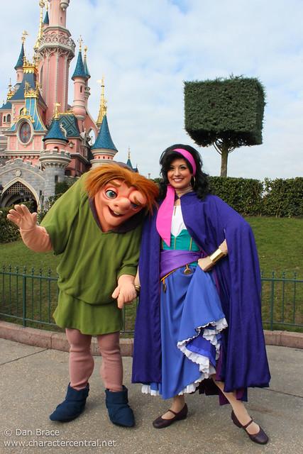 Meeting Quasimodo and Esmeralda