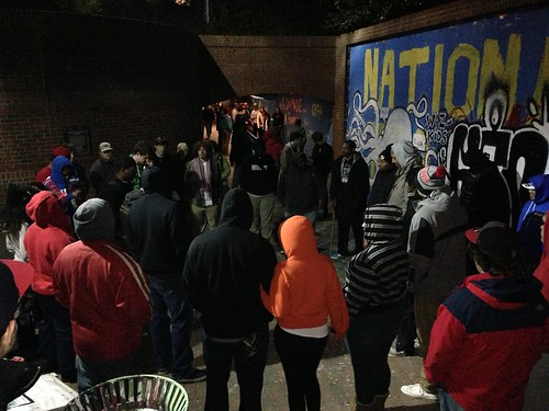 NC State Cypher At The Freedom Expression Tunnel #NCStateCypher