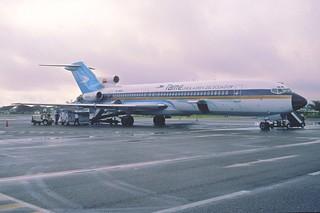167ac - TAME - Linea Aérea del Ecuador Boeing 727-2T3; HC-BHM@GYE;27.02.2002
