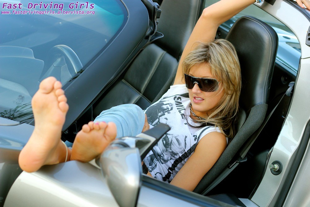Fast Driving Girls - Fast Driving, Sexy girls and fast cars, Pedal ...