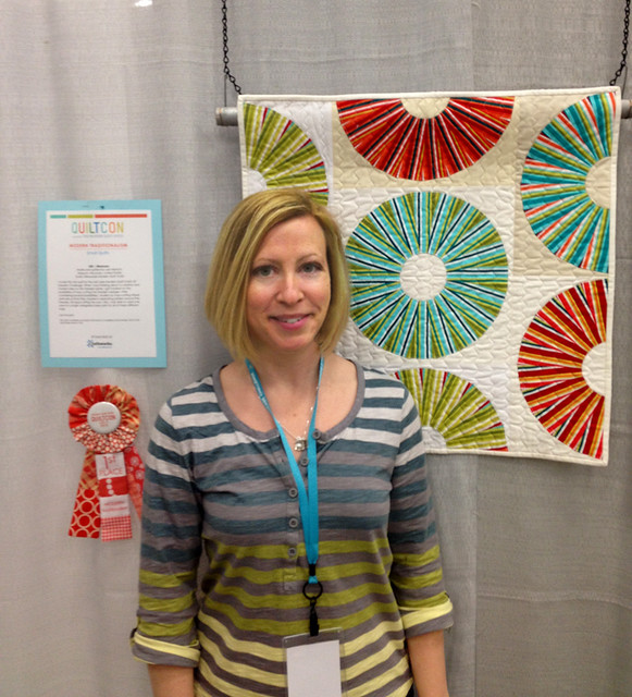 First place at QuiltCon! : )