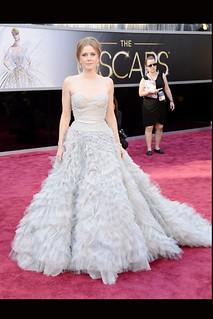 Amy Adams de Óscar de la Renta