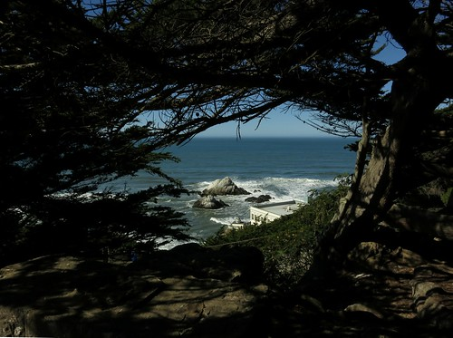 Seal Rocks, Cliff House, and Camera Obscura