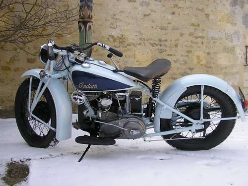 INDIAN CAV 1200cc 1940 ( Fr ) by vintage-revival
