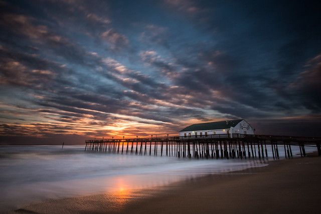 After the Storm - Kitty Hawk Pier Sunrise