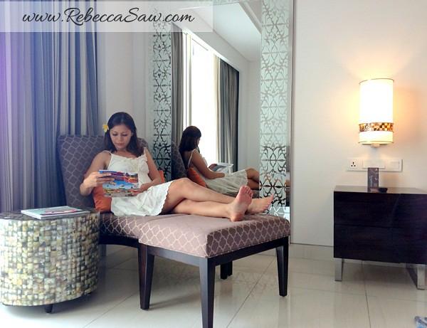 deluxe room sheraton bali kuta -rebecca saw