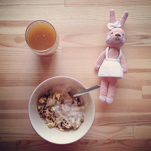 Завтрак и чудесный кролик для Насти от Нади kusocheksahara