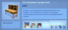 The Pointdexter Upright Desk