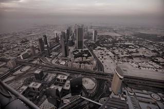 Getting Dark in Dubai