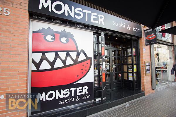 restaurante Monster Sushi, Barcelona