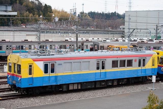 東急電鉄 デヤ7200