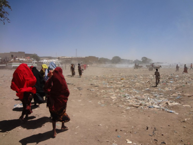 Fronteira da Somália e Etiópia em Wajaale