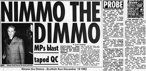 Nimmo the Dimmo - Scottish Sun December  19 1992