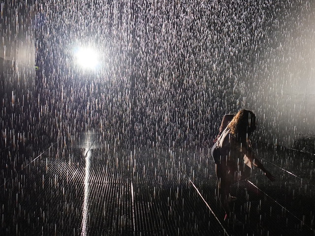Barbican S Rain Room Explained