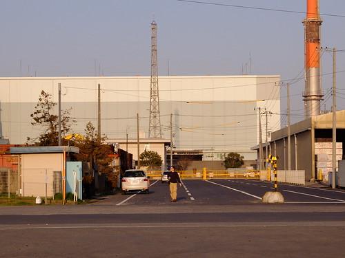 Kawasaki Factory Sunset Scene 03