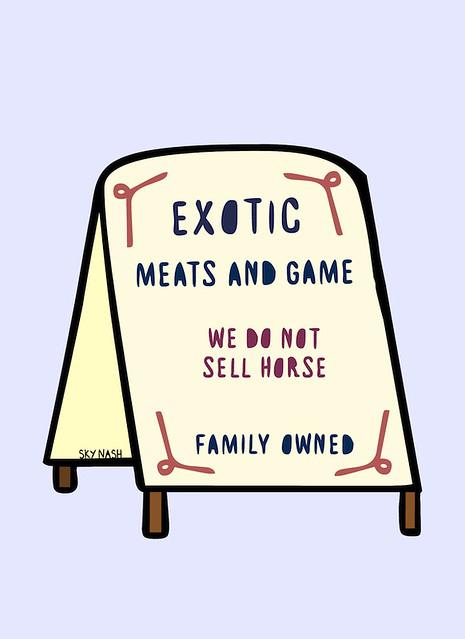 no horse