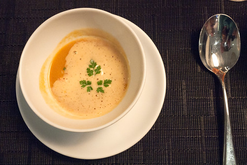 Lobster Bisque @ Yellow Door Bistro