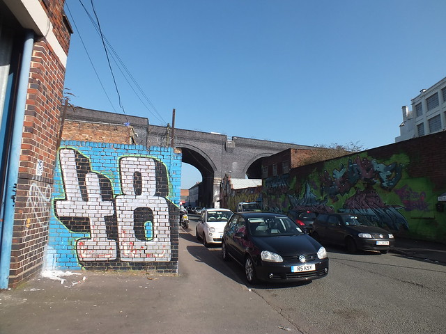 Graffiti and Street Art, Birmingham 2013
