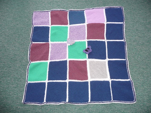 A great Knitted Blanket.