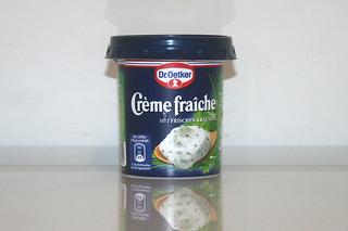 12 - Zutat Creme fraiche / Ingredient creme fraiche