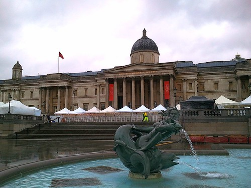 National Portrait Gallery in Trafalgar Square: Todays Walk 16 March 2013